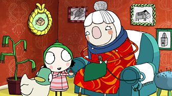 Sarah & Duck - Scarf Lady's House