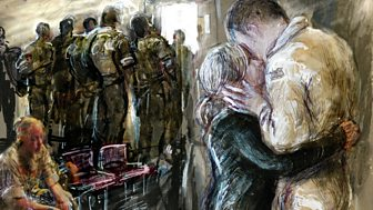 In War and Paint: The Diary of the Modern Day War Artist