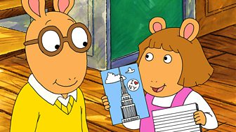 Arthur - Series 3: 18. Arthur Versus The Mean Crossing Guard/dw's Bad Mood