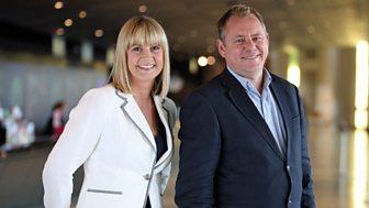 Jamie Owen and Louise Elliott