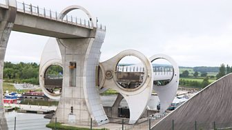 Mr Bloom: Here And There - Falkirk Wheel