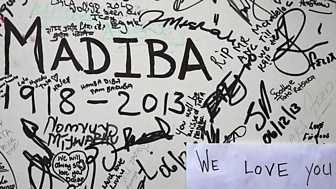 South Africa Pays Tribute To Nelson Mandela