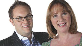 Sally Naden and Brett Davison