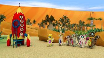 The Numtums - Series 2 - Little Sandy's Rocket