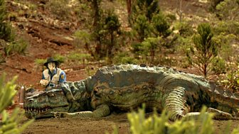 Andy's Dinosaur Adventures - Postosuchus And Teeth