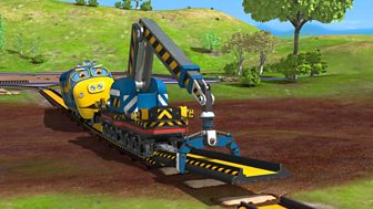 Chuggington - Series 4: 8. Track-laying Brewster