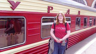 Maureen am Mongolia