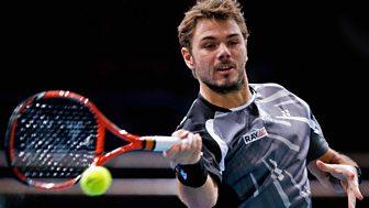 Tennis: World Tour Finals - 2014: Round Robin: Wawrinka V Berdych