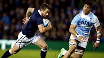 Rugby Union - 2014/2015: Autumn Internationals - Scotland V Argentina