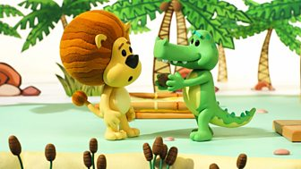 Raa Raa The Noisy Lion - Series 2 - Crocky's Coconut