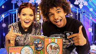 Blue Peter - Christmas Card Make