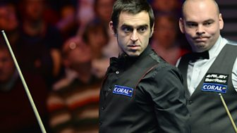 Uk Snooker Championship - 2014: Semi-final: Ronnie O'sullivan V Stuart Bingham