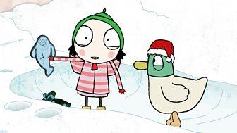 Sarah & Duck - Series 2: 11. Seacow Snow Trail