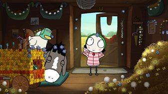 Sarah & Duck - Series 2: 20. Decorating Donkey