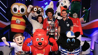 Blue Peter - Fa Cup Competition Launch
