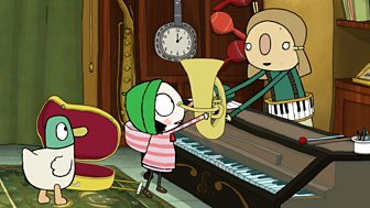 Sarah & Duck - Series 2: 27. Music Fixer