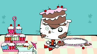 Wussywat The Clumsy Cat - 11. Cake
