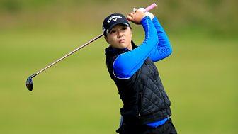 Golf: Women's British Open - 2015: 1. Day 1
