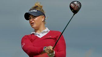 Golf: Women's British Open - 2015: 3. Round 3