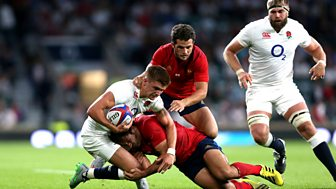 Rugby Union - 2015/2016: France V England Highlights