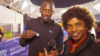 Blue Peter - Bolt, Farah And Ennis-hill