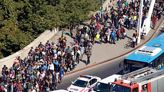 Bbc News Special - Desperate Journeys: Europe's Migrant Crisis