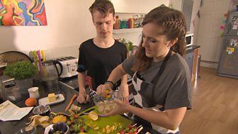 The Dumping Ground Dish Up - 3. Elektra's Fruit Kebabs