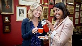 Celebrity Antiques Road Trip - Series 5: 5. Sunetra Sarker And Jo Joyner
