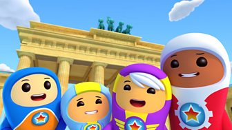 Go Jetters - 8. The Brandenburg Gate, Germany