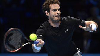 Tennis: World Tour Finals - 2015: Day 4: Murray V Nadal