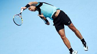 Tennis: World Tour Finals - 2015: Day 6: Nadal V Ferrer