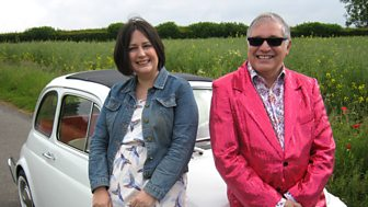 Celebrity Antiques Road Trip - Series 5: 9. Barry Simmons And Lisa Thiel