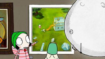Sarah & Duck - Series 2: 35. Moon's Exhibition