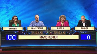 University Challenge - Christmas 2015: 3. Manchester V Uea