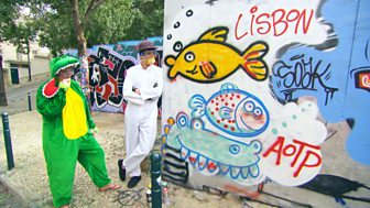 All Over The Place - Europe: Part 2: 13. Street Art, Painted Village And Cheese Rolling