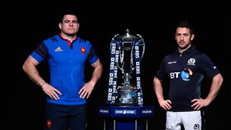 Six Nations Rugby - 2016: Scotland V France