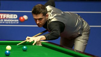 Snooker: World Championship - 2016: Tuesday, 1st Round, Morning