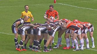 Rugby League: Challenge Cup - 2016: 6th Round - Castleford V Salford