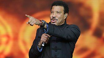 Glastonbury - 2015: Lionel Richie