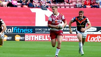 Rugby League: Challenge Cup - 2016: Quarter-final: Wigan Warriors V Castleford Tigers