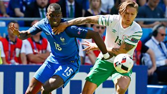 Match Of The Day - Euro 2016: Match Replay: France V Republic Of Ireland