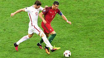 Match Of The Day - Euro 2016: Highlights: Quarter-final - Poland V Portugal