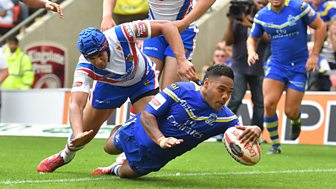 Rugby League: Challenge Cup - 2016: Semi-final: Warrington V Wakefield