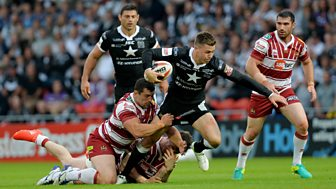 Rugby League: Challenge Cup - 2016: Semi-final: Wigan V Hull Fc