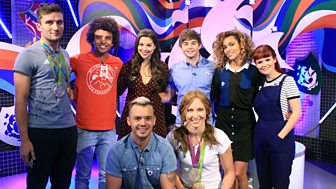 Blue Peter - Badge Baton Finale!