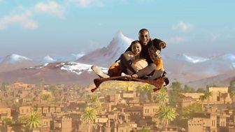 Jamillah And Aladdin - Series 2: 23. The Flying Carpet