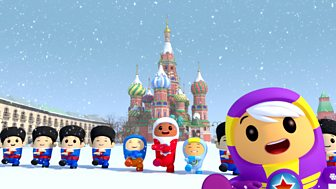 Go Jetters - Series 1: 35. St Basil's Cathedral, Russia