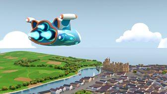 Go Jetters - Series 1: 38. Caernarfon Castle, Wales