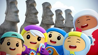 Go Jetters - Series 1: 33. Easter Island, Chile