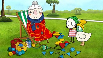 Sarah & Duck - Series 3: 9. Twang Ball